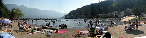 Cultus Lake Beach