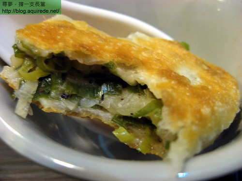 盛園絲瓜小籠湯包-蔥油餅