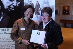 Mu Sochua Receives Eleanor Roosevelt Award