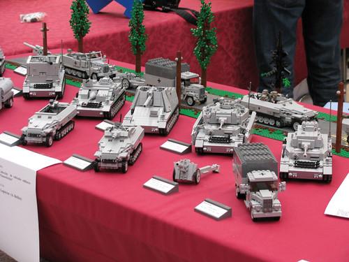Stand de Panzerbricks en la Hispabrick 2009