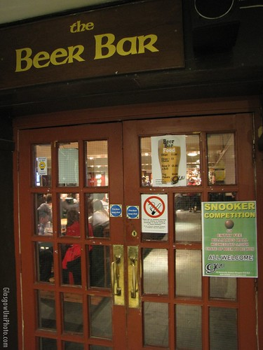 Entrance to the Beer Bar