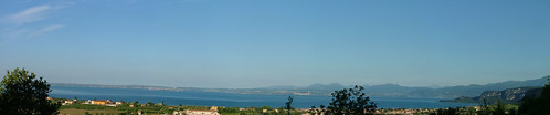 view from home of the garda lake