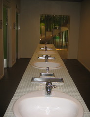 Halmstad library toilets