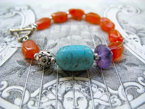 Bohemian Royalty bracelet