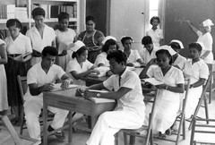 Palau Nursing Students, 1955