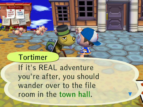 Umm... thats not adventure.