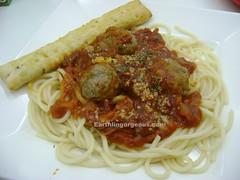 Greenwich Meatball Spaghetti