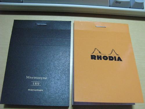 Rhodia & Mnemosyne