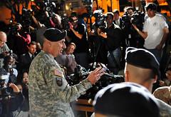Press conference: Lt. Gen. Robert Cone, comman...