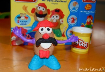 Product Review: Mr. Pota-Doh Head playset