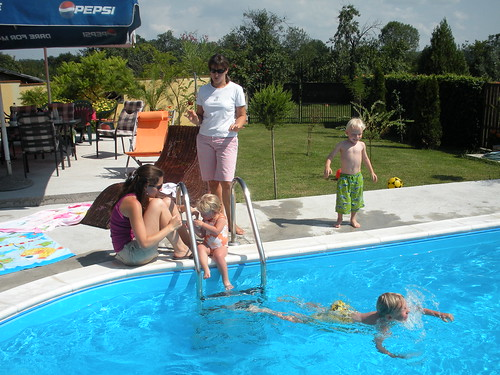The Kids and Adults Enjoyed the Pool