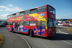 Hop On-Hop Off-Bus in Reykjavík