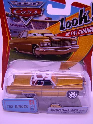Disney CARS Lenticular Tex Dinoco