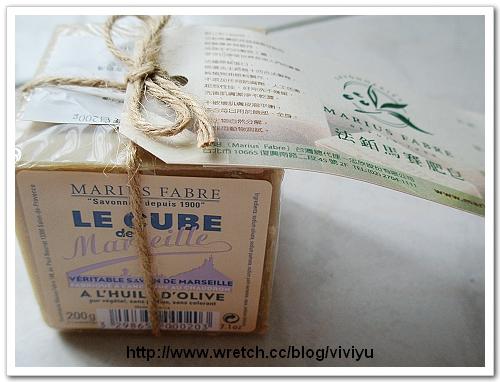 [試用]法鉑馬賽肥皂~純淨自然 @VIVIYU小世界