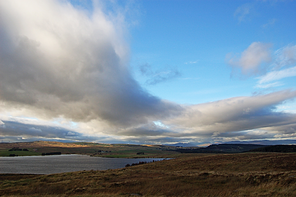Loch Coulter and the West
