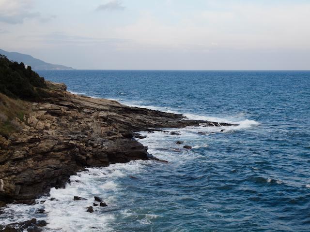 This wonderfully blue sea