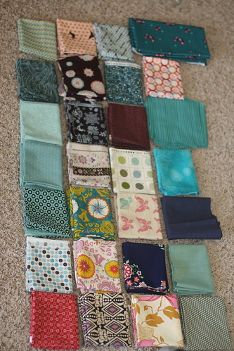 Fabric for Single Girl Quilt