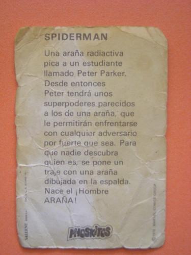 spider-man ficha por ti.