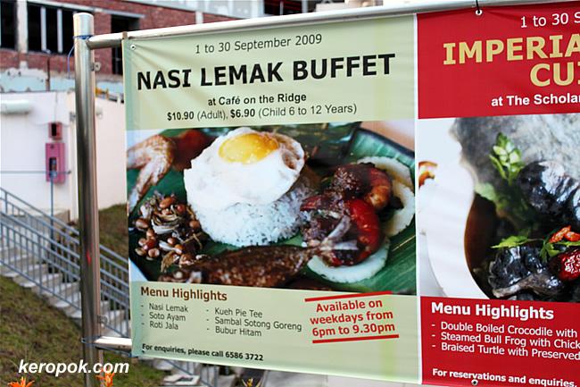 Nasi Lemak Buffet @ NUSS