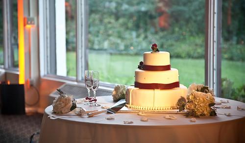 Andrew and Ama: Wedding Cake