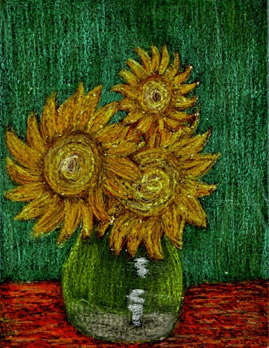 Sunflower Impression