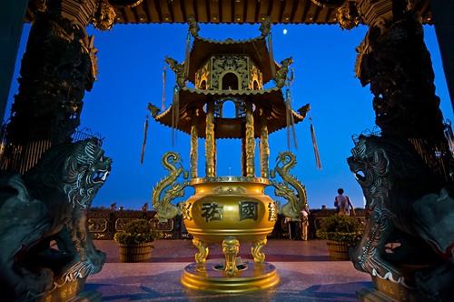 Taipei, Taiwan - BiShan (碧山) Temple