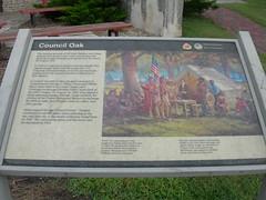 Council Oak Sign