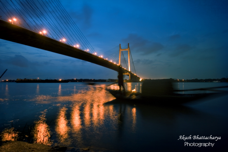 2nd Hoogly Bridge @ Night