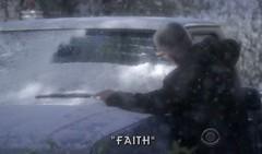 Gibbs in snow