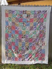 Lost & Found Flour Sack Quilt