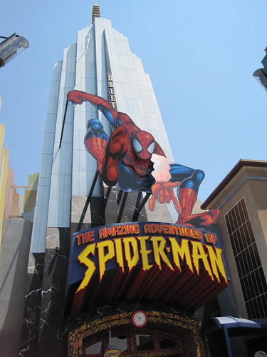 Marvel Super Hero Island:  The Amazing Adventures of Spider-Man