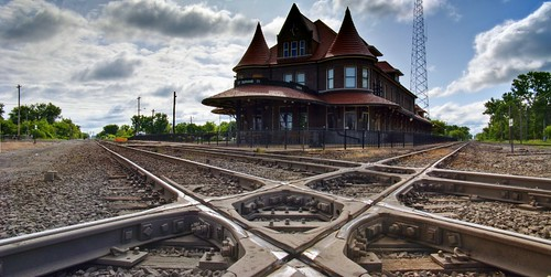 Durand Train Station, HDR