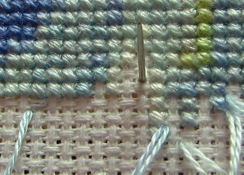 Pin stitch end 1