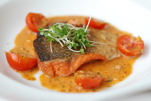 Pan Fried Sea Trout