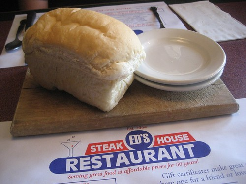 Ed's Steak House Bread Loaf