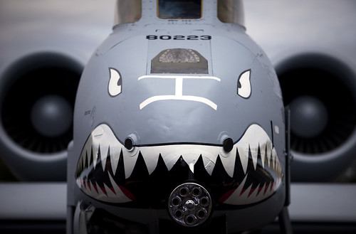Death With A Face A-10 Warthog