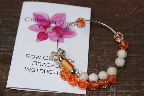 Crimson Orchid Designs row counter bracelet