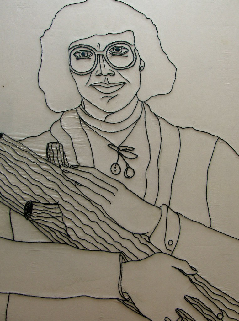 Log Lady Portrait
