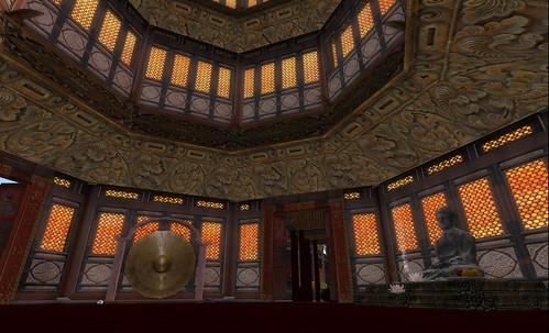 Inside the Shanghai Pagoda