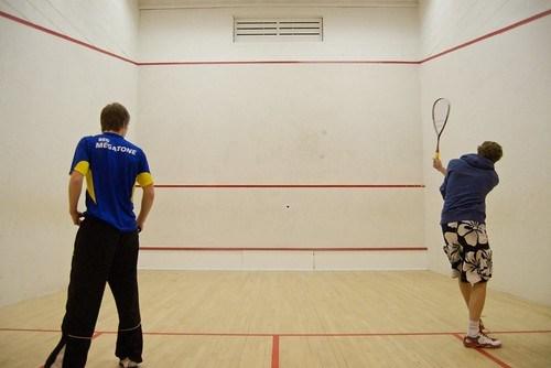 Mens' Squash - 2.12.09 - Photo: Jason Lozier