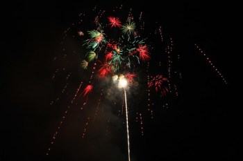 Fireworks (privately funded)