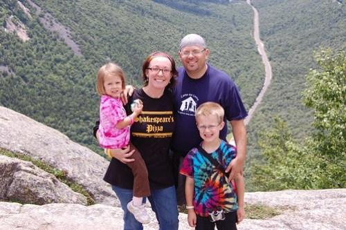Top of Mt. Willard family shot