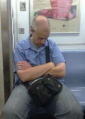 Sleepin' on the Subway