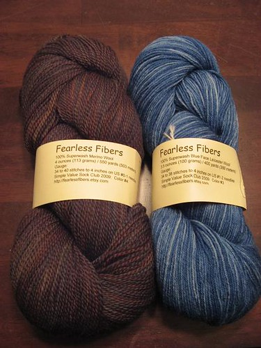 September Fearless Fiber Sock Club