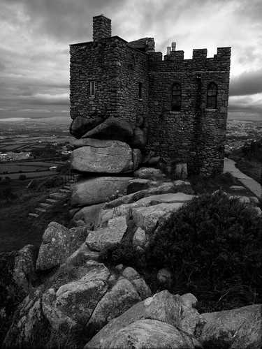 Carn Brea Castle, Redruth, Cornwall