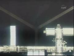 Atlantis Closing on the IIS