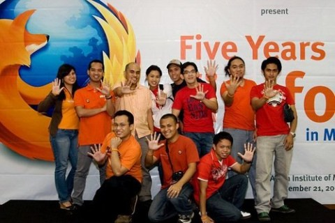 Five Years of Firefox in Manila