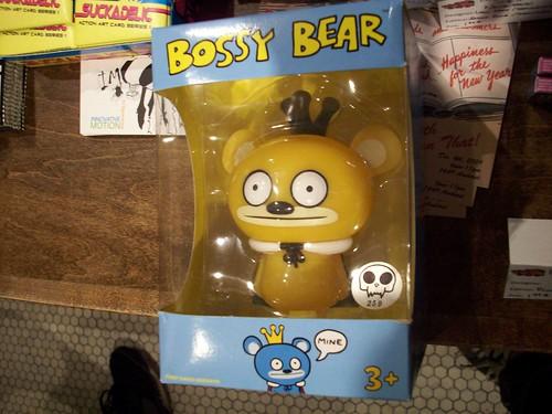 Bossy Bear - Yellow 5