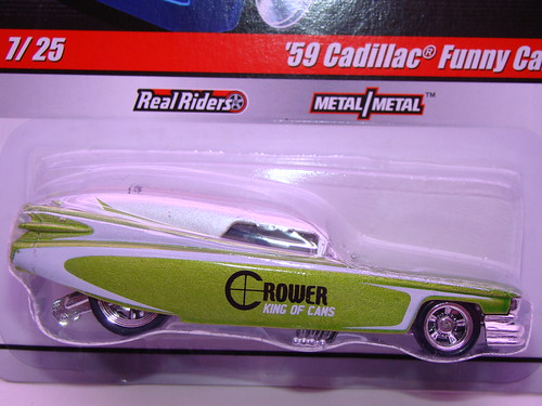 hw delivery'59 cadillac funny car