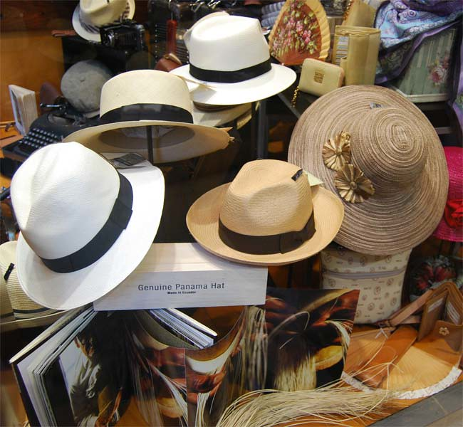 Sombreros Panamá de Sombrerería Albiñana